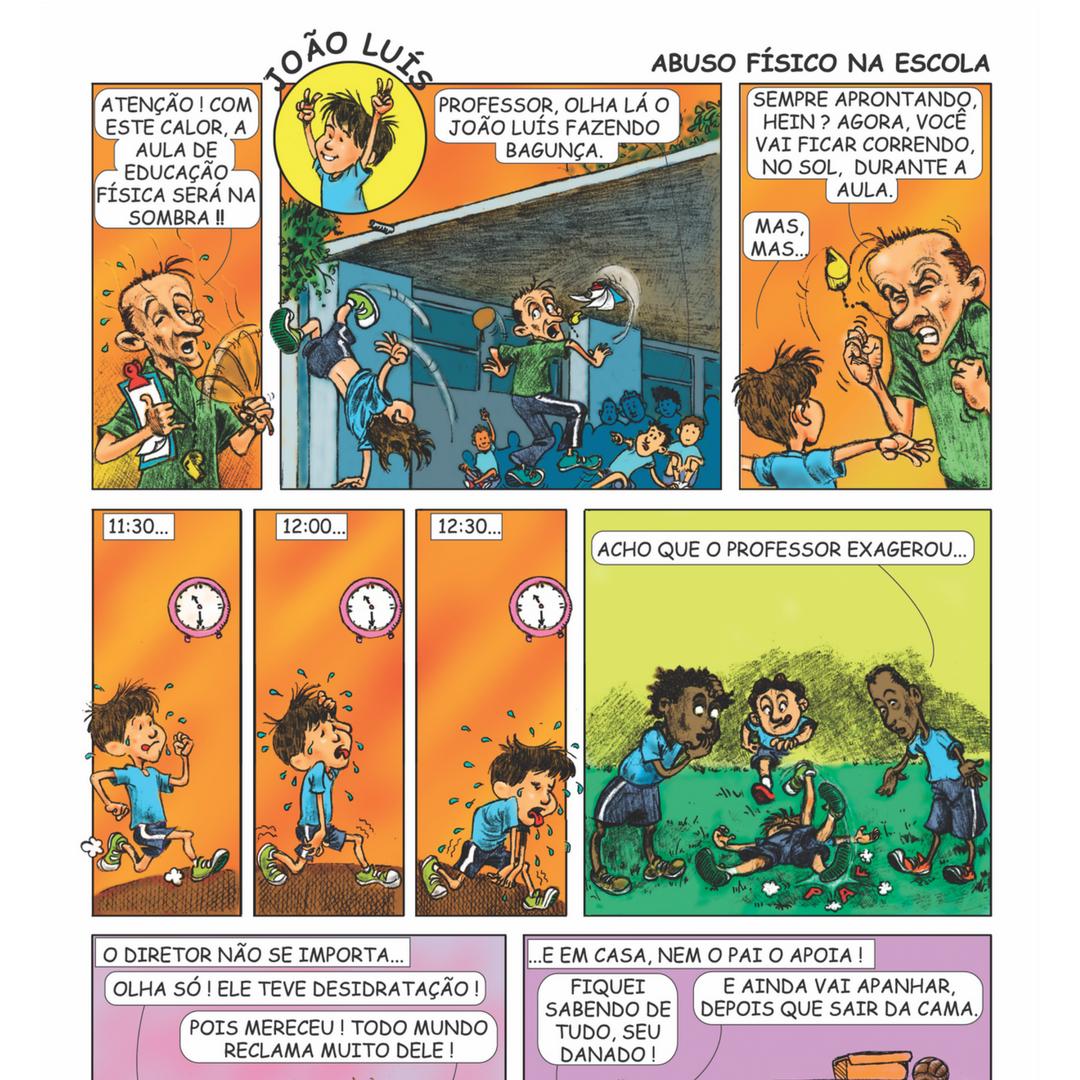 eae9a7633 Revistas em Quadrinhos, Volume I: Vítimas da Violência (1.000 exemplares)